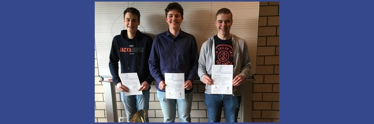 3 neue Musiklotsen an der Hornbergschule